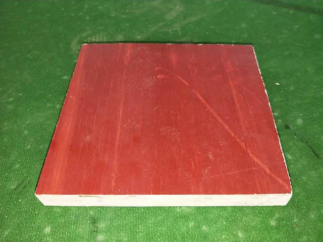 普通红面建筑模板是建筑木模板的一种